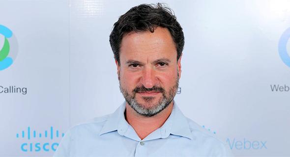 """אורן שגיא מנכ""""ל סיסקו ישראל טלפוניה בענן Webex, צילום: לירון מולדובן"""