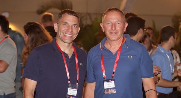 מימין צחי סולטן ויוחאי זייד רונן מביג טק 50, צילום: אוראל כהן