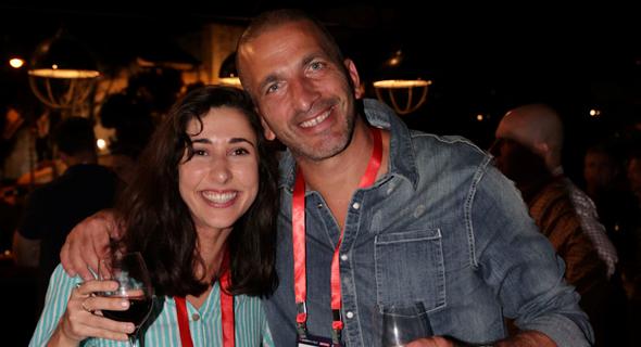 נמרוד כהן וענבל פרלמן מ-TAU Ventures , צילום: אוראל כהן