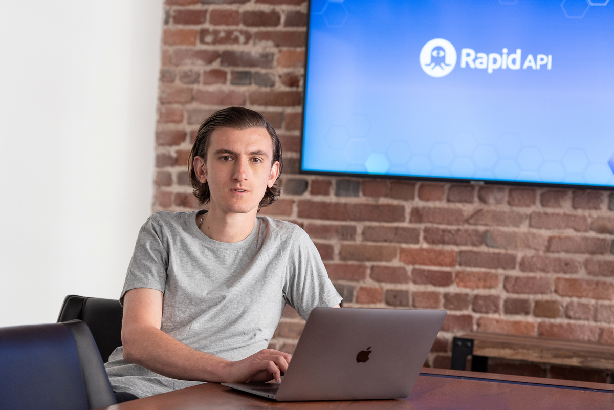 RapidAPI CEO Iddo Gino. Photo: Damian Marhefka