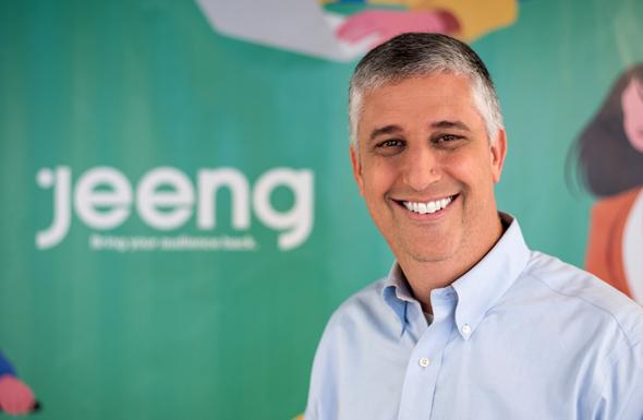 Jeeng CEO Jeff Kupietzky. Photo: Joanna Wayburn