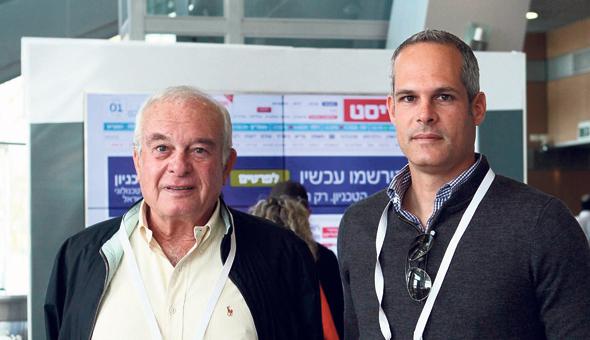 גיורא וצבי אקרשטיין, צילום: אוראל כהן