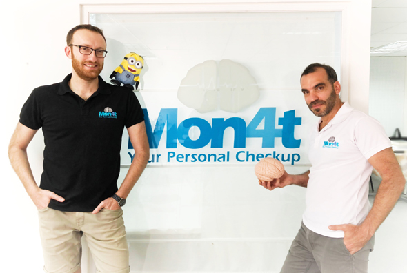 Mon4t co-founders Dima Gershman (left) and Dr. Ziv Yekutieli. Photo: Mon4t