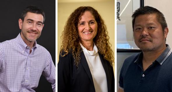 Leor Ben-Yakov, Nitza Kardish, and Takashi Kai. Photo: Trendlines and Mitsubishi Corporation