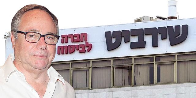 בעל השליטה בהראל יאיר המבורגר על רקע מטה שירביט ביטוח, צילום: אוראל כהן, עידו ארז