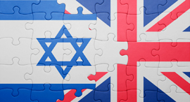 Only 3% of investment into Israeli companies comes from the UK. Photo: Shutterstock