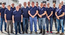 The EVR Motors team. Photo: Kseniia Poliak
