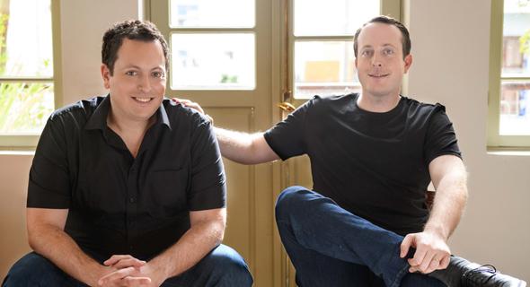 Trigo co-founders Daniel and Michael Gabay. Photo: Tom Bartov