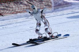 רובוט שעושה סקי, צילום: גטי אימג'ס