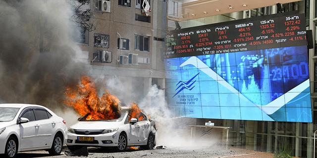 הטילים לא יפילו את הבורסה, המהומות - כן