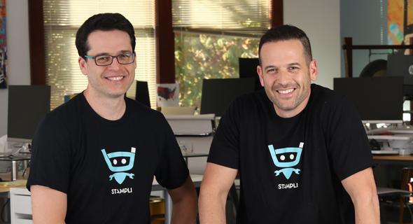 Stampli co-founders Eyal and Ofer Feldman. Photo: Stampli