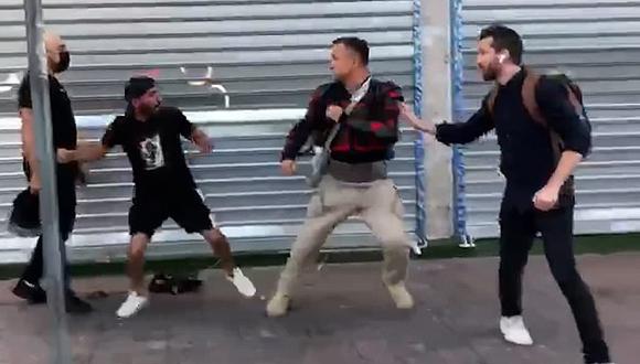 צוות של התאגיד כאן חדשות הותקף תקיפה אלימות פעיל ימין קיצוני שכונת התקווה תל אביב הסלמה עימותים