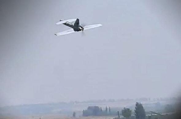 """כטב""""מ חמאס יוצא לדרכו, צילום: מתוך סרטון חמאס"""