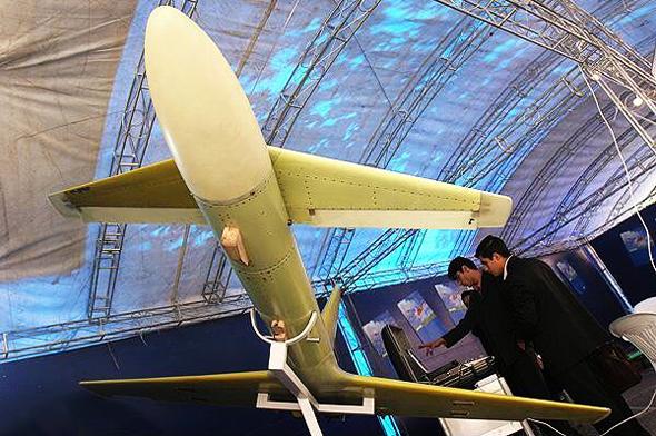 אבאביל 2 בתערוכה, צילום: FARS