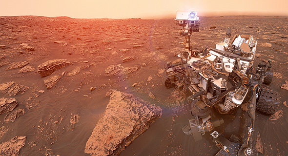 NASA's Mars Curiosity rover had Israeli technology onboard. Photo: NASA/JPL