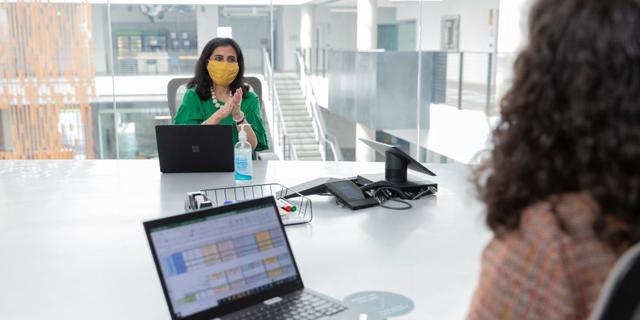 Employers and employees are trending toward the hybrid work model (illustration). Photo: Microsoft-Israel