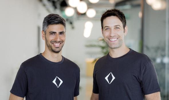 Apiiro founders Yonatan Eldar and Idan Plotnik. Photo: Omer Hacohen