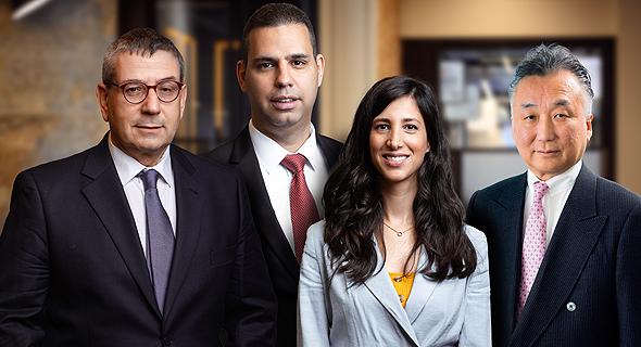 (L to R) Gideon Ben Zvi, Moshe Sarfaty, Anat Tila Cherni, and Takeshi Shinoda. Photo: Doron Letzerpic