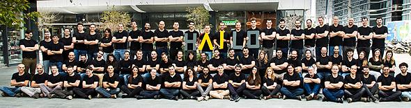 The Hailo Team. Photo: Hailo