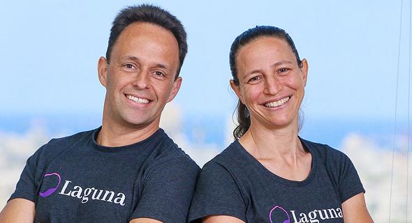 Laguna Health founders Yoni Shtein and Yael Adam. Photo: Laguna Health