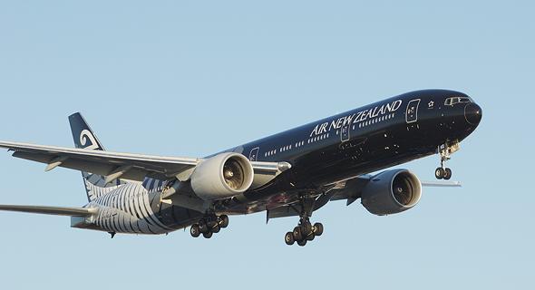 בואינג 777 שחור של אייר ניו זילנד
