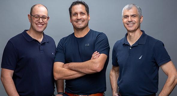 The DealHub founders. Photo: Bertzi Goldblat