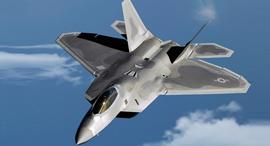 הקברניט חמקן F22 מטוס קרב, צילום: USAF