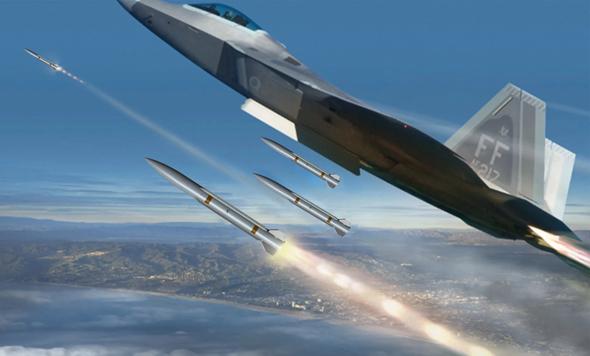 הדור הבא של הטילים נגד מטוסים. אילוסטרציה