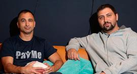 PayMe co-founders Adam Kima (left) and Adam Kogan. Photo: Ofer Vaknin