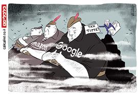 קריקטורה יומית 7.6.2021, איור: יונתן וקסמן