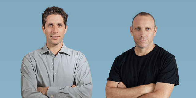 Duda co-founders Amir Glatt (right) and Itai Sadan. Photo: Duda