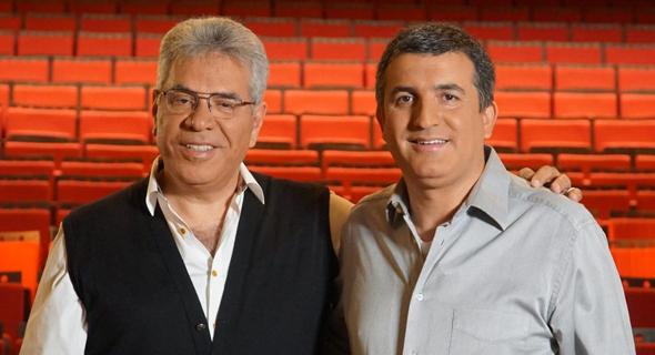 Avi Edery and Moshe Mamrud Tadira. Photo:Mustache Studio
