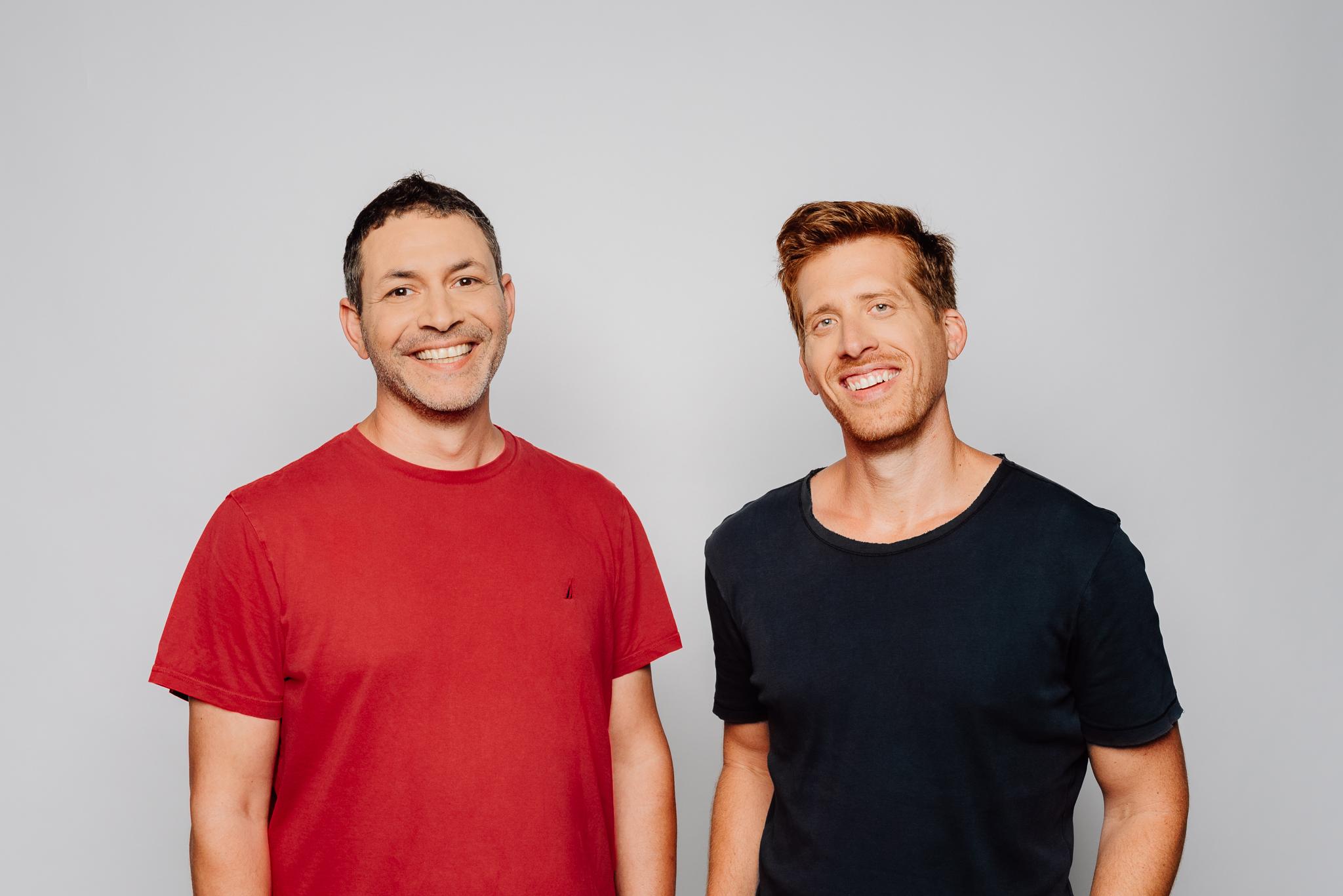 monday.com CEOs Roy Mann (left) and Eran Zinman Photo: Netanel Tobias