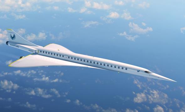 אוברטור באוויר, צילום: Boom Supersonic