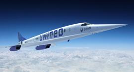 הקברניט בום אוברטור מטוס נוסעים קונקורד, צילום: Boom Supersonic
