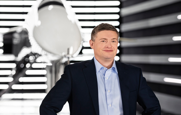 """בלייק שול, מנכ""""ל ומייסד החברה, צילום: Boom Supersonic"""