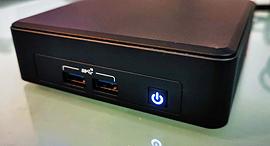 אינטל NUC 11 מיני מחשב PC מיקרו מחשבים 1, צילום: רפאל קאהאן