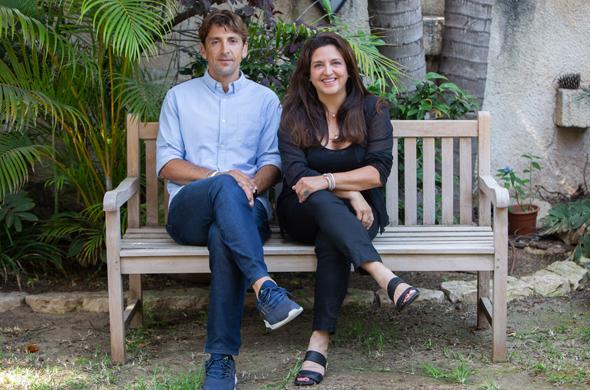 BRICKS' Sivan Blasenheim and Amalia Paz. Photo: Shmuel Levy