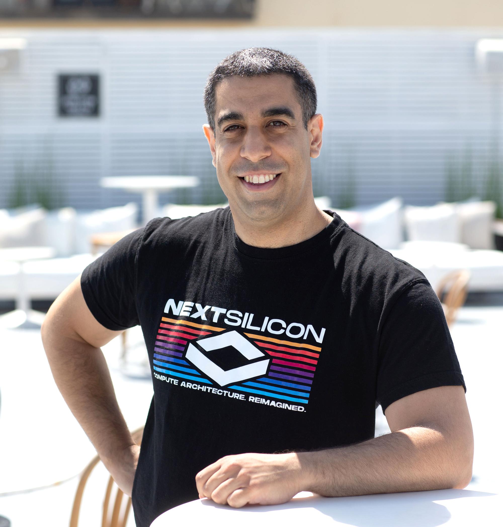 NextSilicon CEO Elad Raz. Photo: NextSilicon