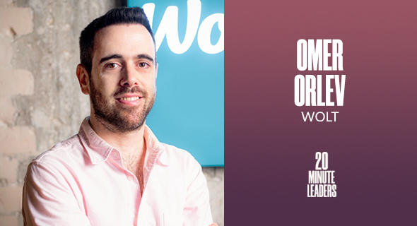 Omer Orlev, director of retail sales and growth, Wolt. Photo: Wolt