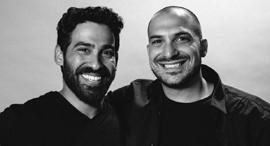 Wisio co-founders Adam Frank and Idan Maor. Photo: Wisio