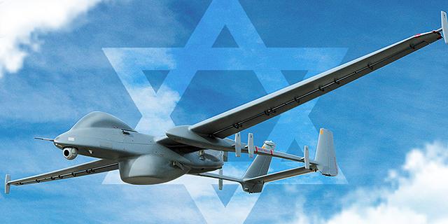 """הקברניט כטב""""מ מזל""""ט 1, צילום: התעשייה האווירית"""