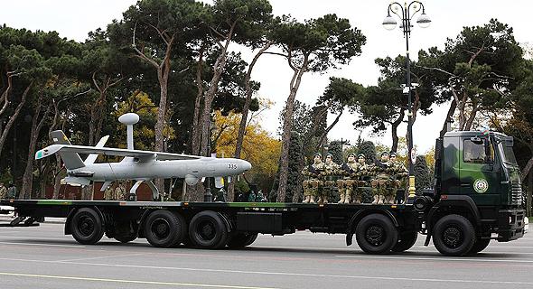 הרמס 450 במצעד צבאי באזרבייג'ן