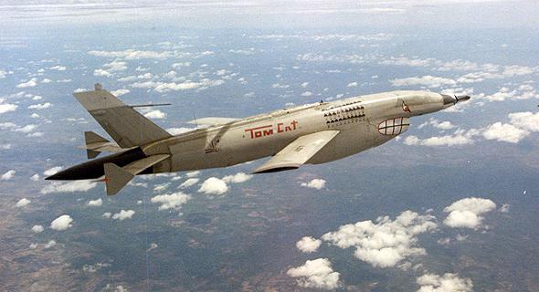 """כטב""""מ פיירבי 2 בטיסה מעל שטח וייטנאם"""