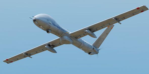 """הרמס 900 באוויר; כטב""""מ מתקדם של אלביט בעל תא פנימי לציוד ומערכות"""