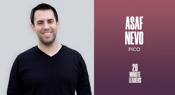 Asaf Nevo, CEO & co-founder, PICO. Photo: Asaf Nevo