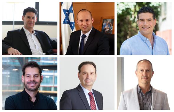 Lawyers and entrepreneurs share their insights. Photo:Eyal Toueg, PR, Ofir Abayev, Fabian Koldorff, Sharon Deri