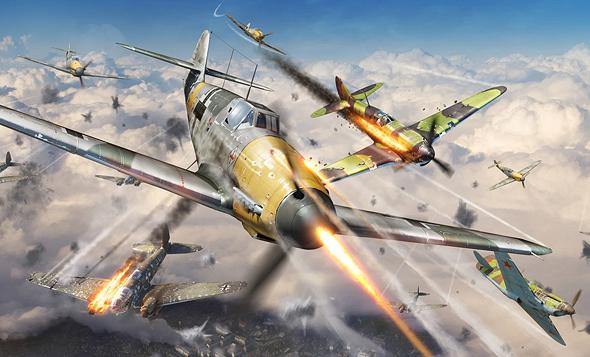 המיג 3 והיאק 1 היו שקולים יותר ל-109 הגרמני, אבל זה לא עזר בפתיחת מבצע ברברוסה, צילום: Warthunder