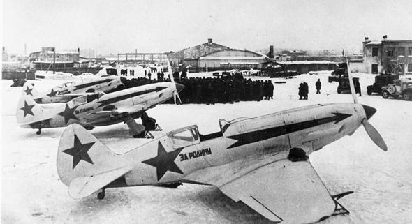 ליין מטוסי מיג 3. מי ידע להפעיל אותם? , צילום: Wikimedia