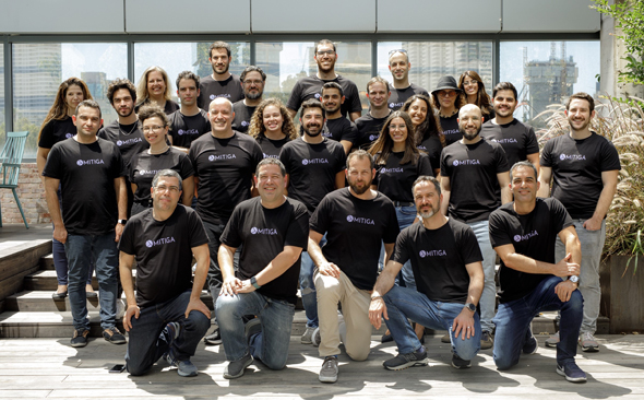 Mitiga team. Photo: Omer Hacohen